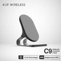 KIIP C9 WIRELESS CHARGER DOCKING PAD FAST CHARGING 20W QC 3.0 Qi