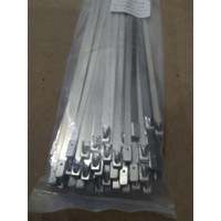 Hose Clip Stainless Band It 45 cm Ball Lock Clamp Plat 1 buah Depok