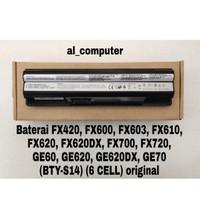 Baterai MSI FX420, FX600, FX603, FX610, FX620, (BTYS14 ) original