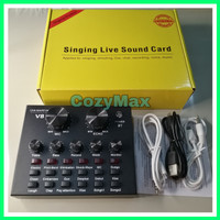 Sound card V8 Mixer Bluetooth SoundCard V8 Audio USB External Soundcar