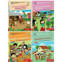 buku paket tema 1.2.3.4 semester 1 kelas 3 sd