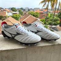 Sepatu Bola Mizuno Morelia Neo 3 White Black FG