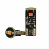 Lampu LED T10 Autovision Amber Bohlam T10 LED Canbus Lampu Senja