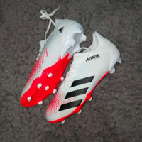Sepatu bola Adidas Predator 20.3 L White red FG Original