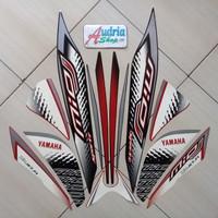 Striping Stiker Motor Yamaha Mio J Sporty 2014 Hitam-Merah