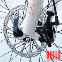 Disc Brake 6 Holes 160mm BCD 44mm Rem Cakram Sepeda Rotor Bicycle MTB