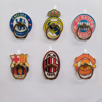 iring motif karakter bola / ring / tempelan hp handphone phone holder
