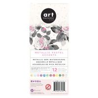 Art Philosophy - Pastel Metallic Accents Watercolor Set