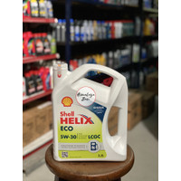Oli Mesin Shell Helix ECO 5W 30 Khusus Mobil LCGC (3.5 Liter)