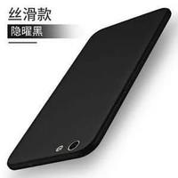 Softcase Slim Black Mate Case Anti Crack Oppo A57 / A39 / F1A