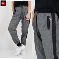 Kurt Celana Panjang Olahraga Wanita Jogger Pants Sweatpants Okechuku - Abu-abu, XL fit to XXL