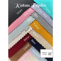 0.5 METER KAIN KATUN POPLIN POPLINE KATUN JEPANG COTTON JAPAN BAHAN