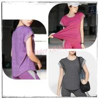 Baju Atasan Senam Zumba Wanita / Tees Sport Import