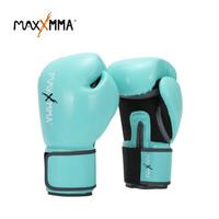 MaxxMMA Pro Style Boxing Gloves for Men & Women (GB01S) Tiffany Green