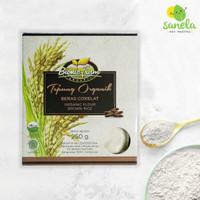 Tepung Beras Cokelat Organik 250 gram - Bionic Farm