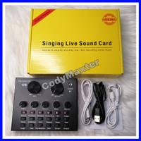 Sound card V8 Mixer Bluetooth SoundCard V8 Audio Soundcard New