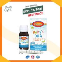 Carlson Labs, Baby DHA with D3, 2 fl oz (60 ml)