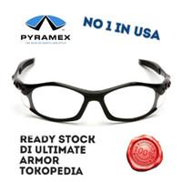 Kacamata Safety Sepeda Motor clear Pyramex Solara original