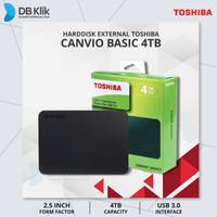 Harddisk External Canvio Basic 4TB - HD / HDD Toshiba Canvio Basic 4TB
