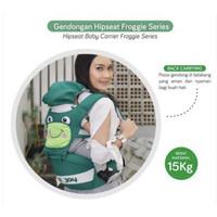 Baby joy--gendongan hipseat bayi/duduk froggie + chick series premium