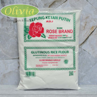 Tepung Ketan/Glutinous Rice Flour Rose Brand (Kemasan Ekonomis) 500gr