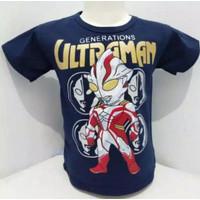 Baju Atasan Anak Laki-laki Kaos Karakter Anak ULTRAMAN Anak Laki-laki
