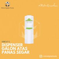 Sanken HWE-67C Top Loading Dispenser Putih/Hijau Free Jabodetabek