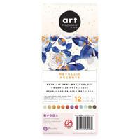 Art Philosophy - Metallic Accents Watercolor Set