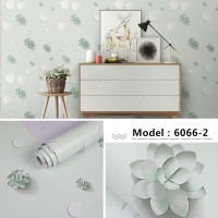 Wallpaper Dinding Minimalis - Wallpaper Sticker Bunga 10meter x45cm