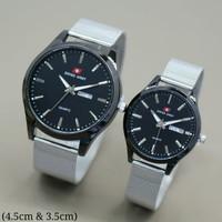 jam tangan swiss army couple rantai pasir(harga perpasang)