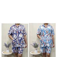 Baju tidur JUMBO wanita(HP)piyama motif doraemon