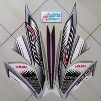 Striping Stiker Motor Yamaha Mio J Sporty 2014 Hitam-Ungu