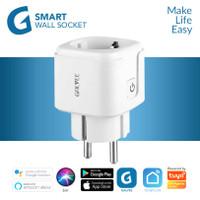 GALVEE Smart Plug 16A with Power Monitor Stop Kontak WiFi Colokan