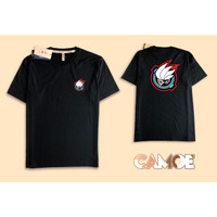 Kaos TShirt Baju Kamen Rider satria baja hitam kartun full