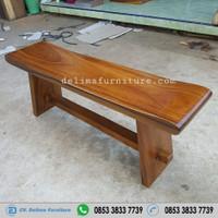 bangku panjang kayu / bangku sate / bench kursi kayu trembesi