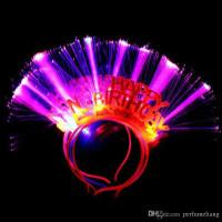 Headband LED Happy Birthday / Bando Lampu Ulang Tahun 1pcs