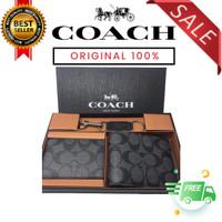Dompet Coach Wallet Gift Set Full Set Packing Bubble Wrap Aman