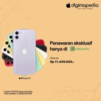 iPhone 11 64GB/128GB/256GB Grs RESMI Apple INDONESIA (Digimap/iBox)