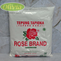 Tepung Tapioka/Tepung Kanji Rose Brand - 500 gram