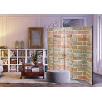 Sketsel Room Divider Pembatas Ruangan Partisi Lipat Batu Bata - Brick