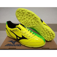 Sepatu Futsal Mizuno Wave Ignitus 4 Neon Yellow - TURF Berkualitas