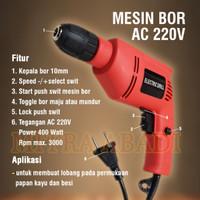 Mesin Bor Tangan / Drill Screwdriver AC 220V