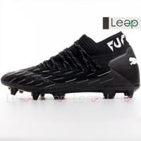Sepatu Bola Puma Future 5.1 Netfit FG Black White