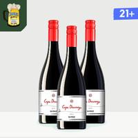Cape Discovery Shiraz Wine 14% 750 ml - Smokey Oak - Red Wine