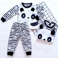 Setelan Anak Perempuan V3 SML Panda - S