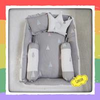 kasur bayi set bantal guling bayi - Baby nest kotak