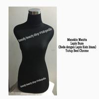 Patung Baju/Manekin Wanita Lapis Busa