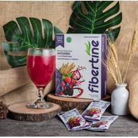 FIBERTINE minuman serat + COLLAGEN DETOX PELANGSING DIET HERBAL ORIGIN