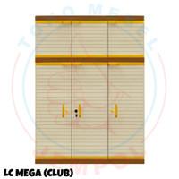 Lemari Plastik Club MEGA LC CWSP