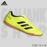 Sepatu Futsal Pria ADIDAS Copa 19.4 IN Yellow/Black 100% Original BNIB